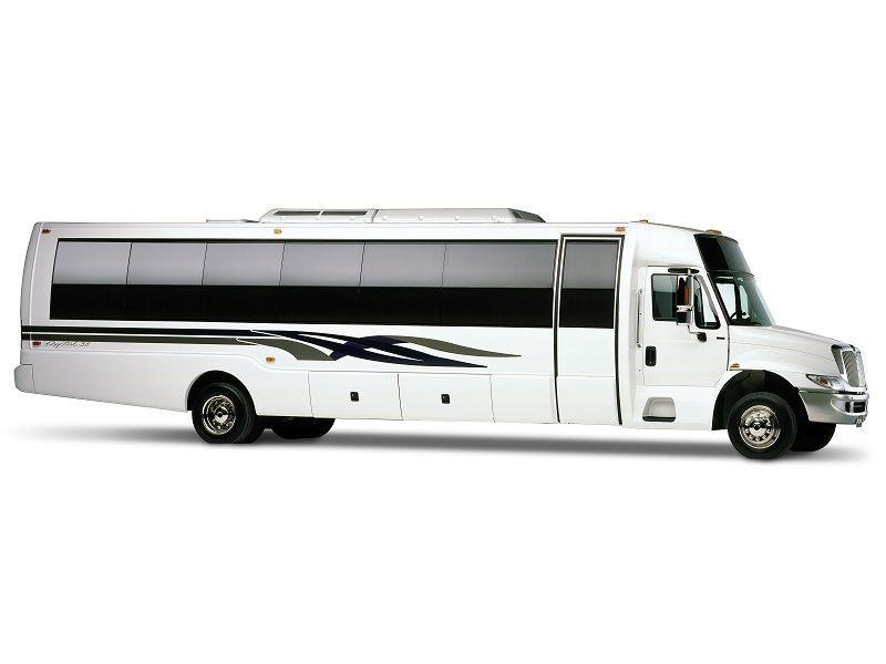 Los Angeles Mini Coach Bus 44 Passenger Mini Coach Bus