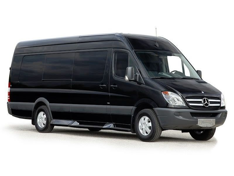 San Antonio Mercedes Sprinter Van 11 Pax Mercedes Sprinter Van