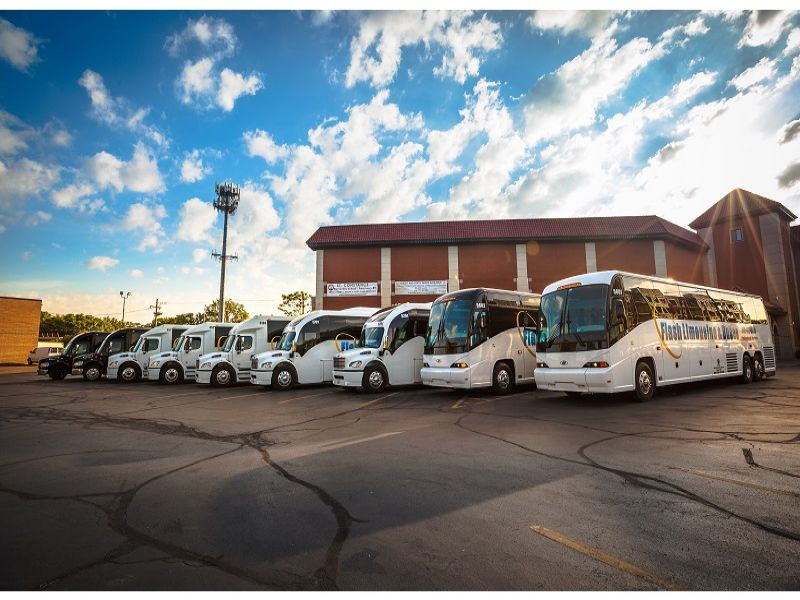 Coach Bus Transportation Chicago Motor Coach Bus and Shuttle Bus Transportation