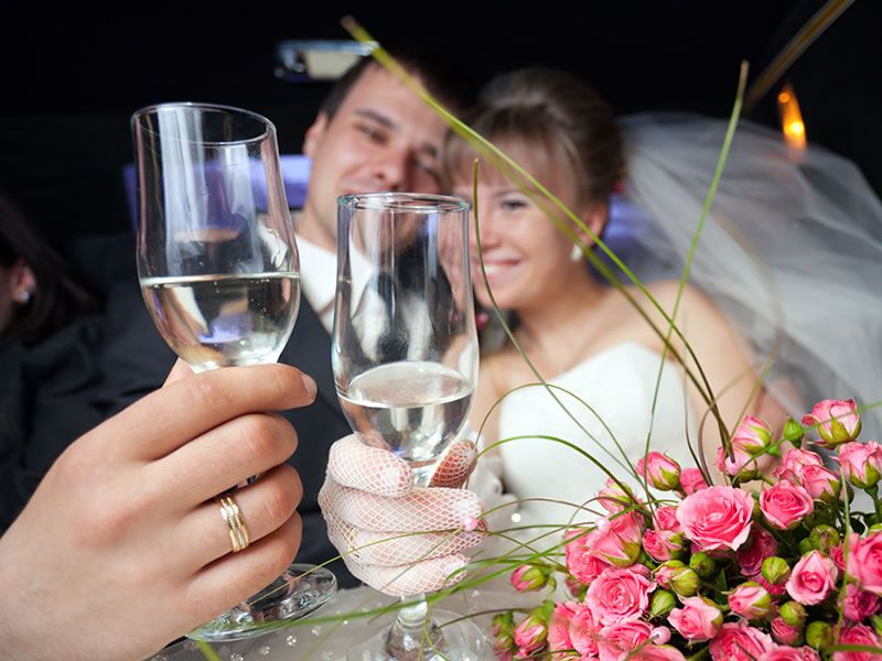 Weddings Transportation New Orleans Wedding Limo Services
